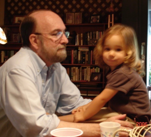 Bill and Granddaughter Wally (2)