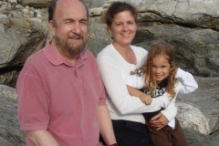 Bill, Marie and Granddaughter Wally