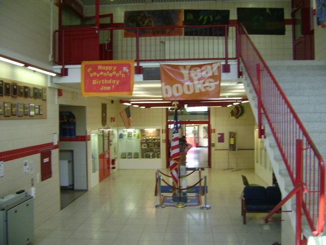 (080516)(011) Wiesbaden-Gen H.H. Arnold HS-Main Bldg Foyer