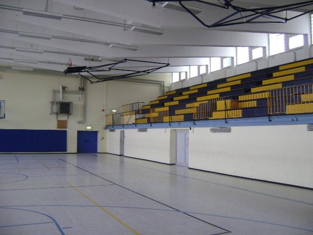 (080516)(015) Wiesbaden-Gen H.H. Arnold HS-Main Gym Interior